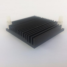 2 Piece 50x50x10mm Aluminium Heatsink Cooling Fan Cooler Radiator PC Northbridge Chipset Heat Sink