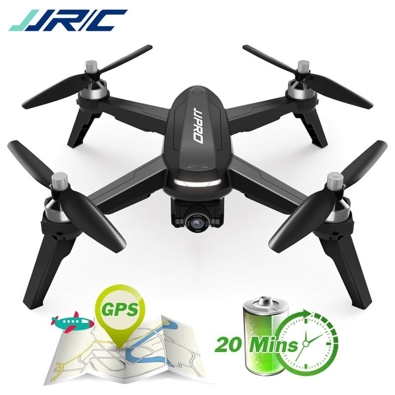 JJRC JJPRO X5 Profissional Zangão com Câmera 1080 P Brushless Motor Alta Hold Quadcopter Auto Seguir o Posicionamento GPS Voar 16 minutos
