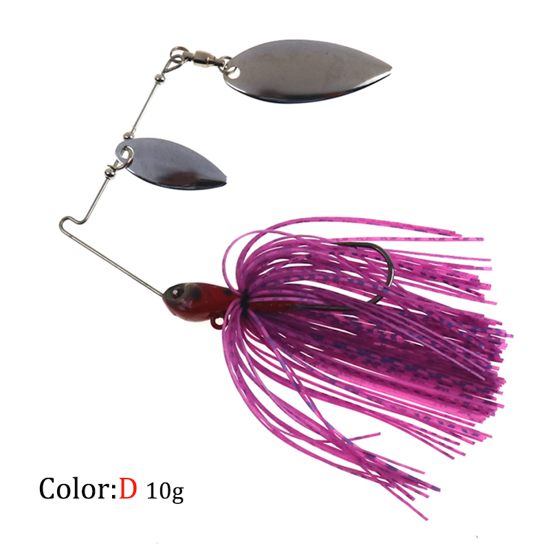HISTOLURE 1pcs Spinners Spoon Bait Metal Fishing Jigs Lure 10g Spinnerbait Bait Artificial Lure Crankbaits Fishing in Fishing Lures from Sports Entertainment