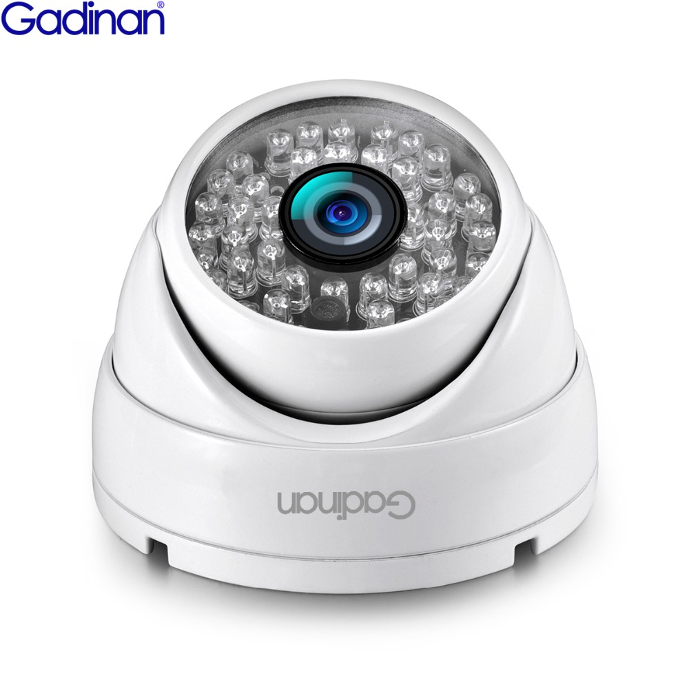 Gadinan AHD FULL HD 1080P Anti Vandal Security Surveillance Wired Dome Camera AHDH 2MP AHD Camera image