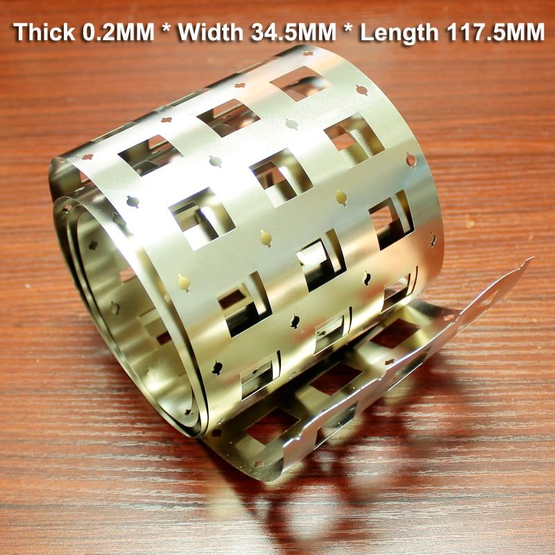 Купить с кэшбэком 1kg 32650 power lithium battery assembly high current 99.96% pure nickel belt battery connection spot welding N6 pure nickel