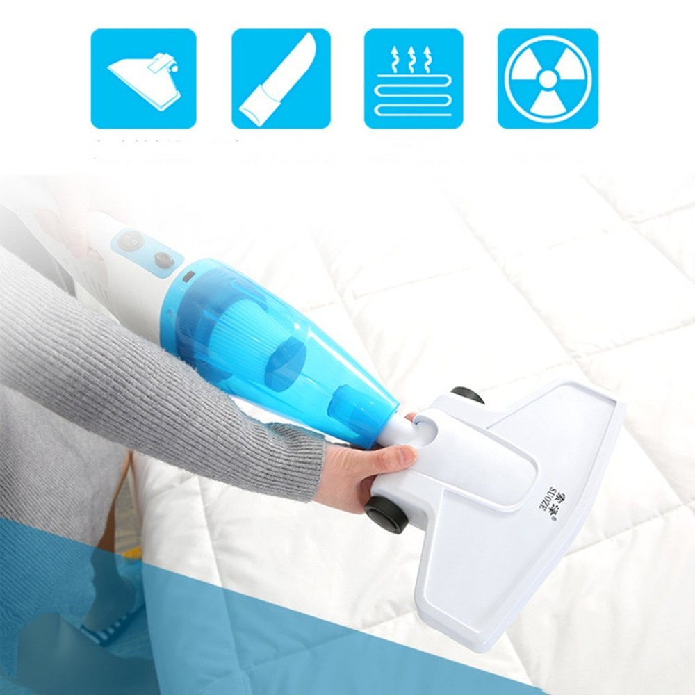 Portable 2 in 1 Handheld Vacuum Cleaner Powerful Suction 650W Low Noise Dust Collector Home Rod Aspirator Carpet Cleanner