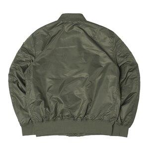 Image 4 - Осенний топ пистолет Us navy MA1 letterman varsity бейсбольный пилот ВВС летный колледж Тактическая Военная армейская куртка для мужчин 2020