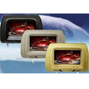 Image 5 - Universal 7 inch TFT LED screen Car MP5 player Headrest monitor Support AV/USB/SD input/FM/Speaker/Car camera