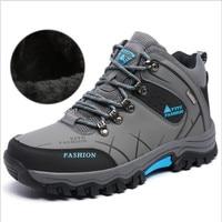 Classic Men S High Top Shoes Winter Hiking Climbing Keep Wear Shoes Men S Waterproof Outdoor
