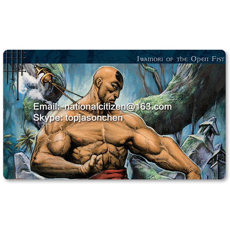 Many Playmat Choices -Iwamori of the Open Fist- MTG Board Game Mat Table Mat for Magical Mouse Mat the Gathering