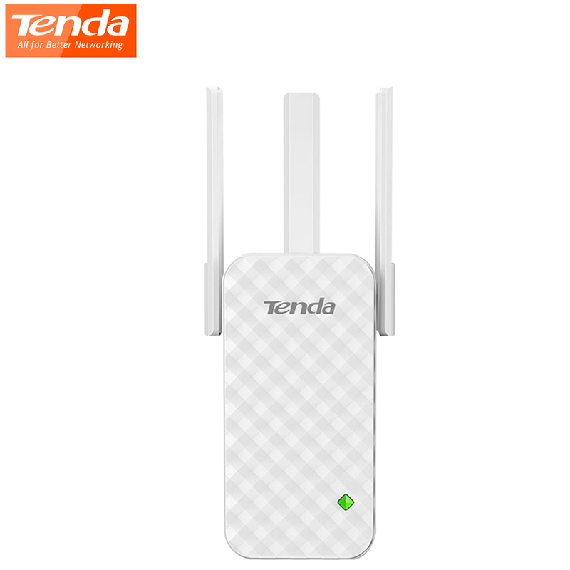 Tenda A12 300Mbps WiFi Router Wifi Repeater Range Extender Signal Extender 3 Antenna Full House Cover Expander Router Repeater