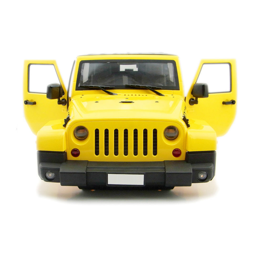RC Rock Crawler 1:10 Yellow  carriage shell for axial D90