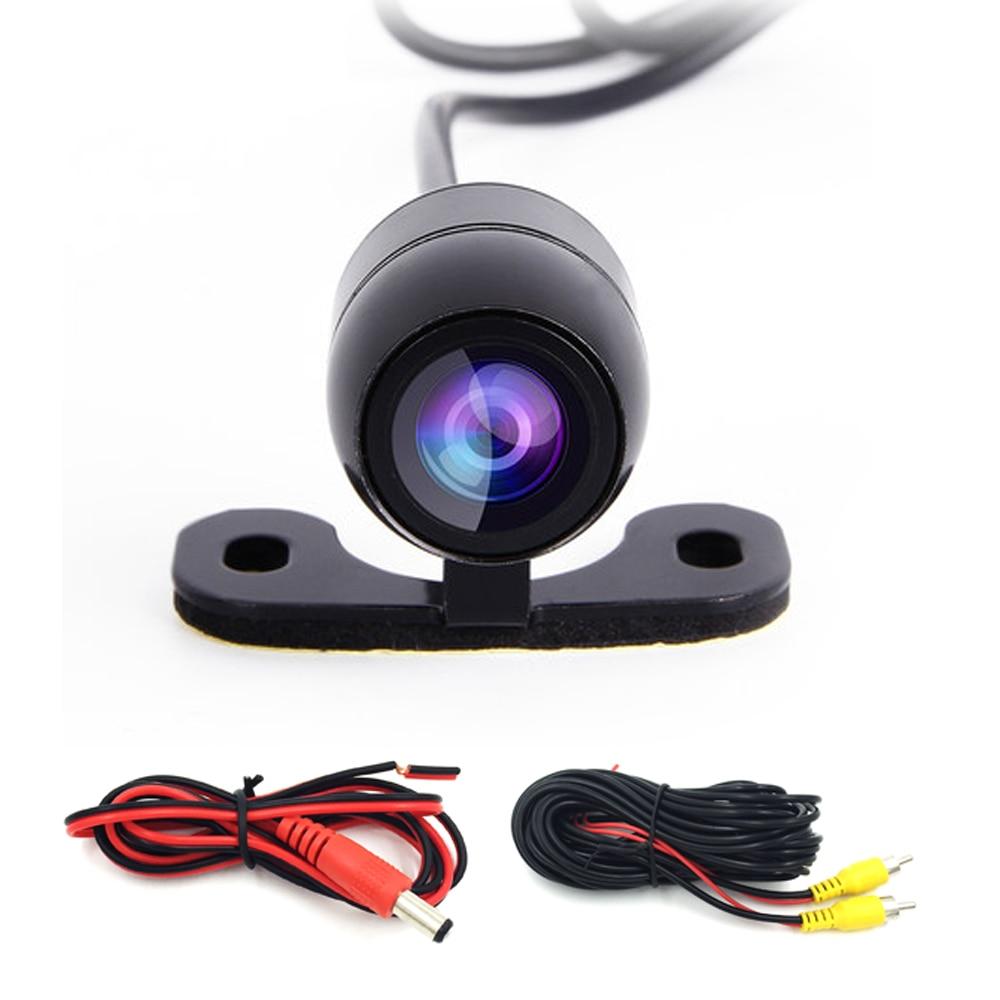 Wasserdicht 120 Grad Weiten Blickwinkel Auto Backup Kamera Auto Rückansicht Kamera Reverse Einparkhilfe Kamera mit 6 meter draht