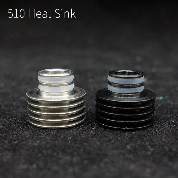 1 шт. 510 потека адаптер для радиатора рассеивания тепла для Ecig 510 нитки RDA РБА vape аксессуар