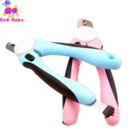 Big Dog Nail Scissors Pet Dog Cat Nail Clippers Scissors Blue Pink Color Size Length 16cm