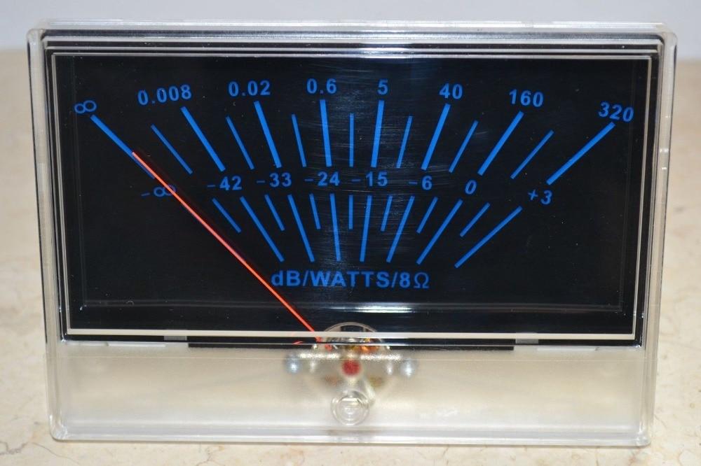 VU panel meter DB Level Header Audio power P-134 Amplifier chassis Back light audio power amplifier panel vu meter db level led header driver board module diy