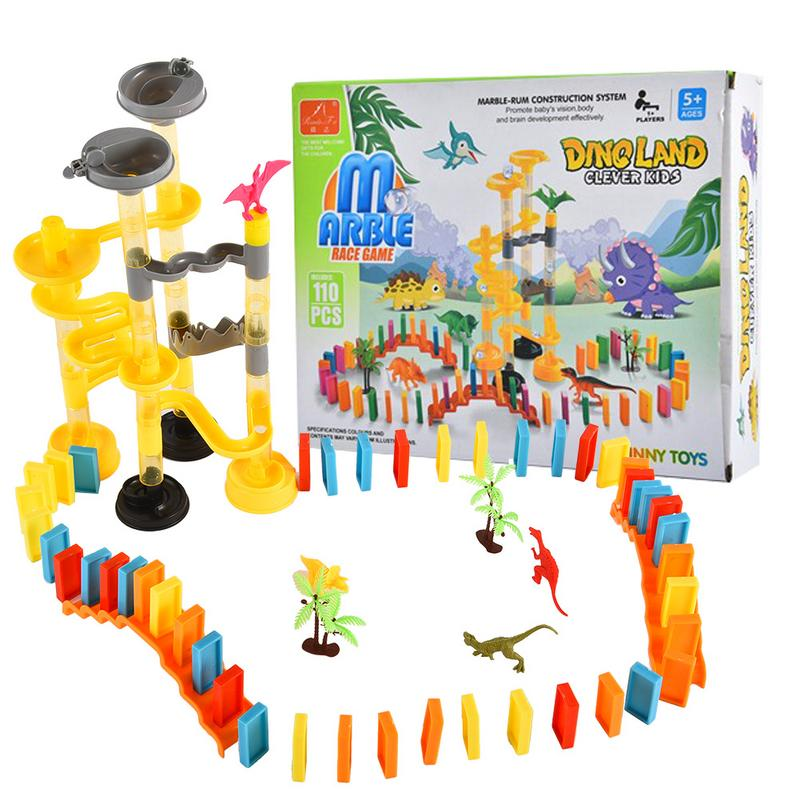 Block Game Building Construction Toy Domino-game For Children Playing Domino