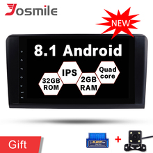 Android 8 1 Quad Core font b Car b font DVD Player 2G 32G For Mercedes