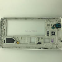 Middle frame bezel   housing   case replacement For samsung note 4 N910A N910V N910   mobile     phone   repair