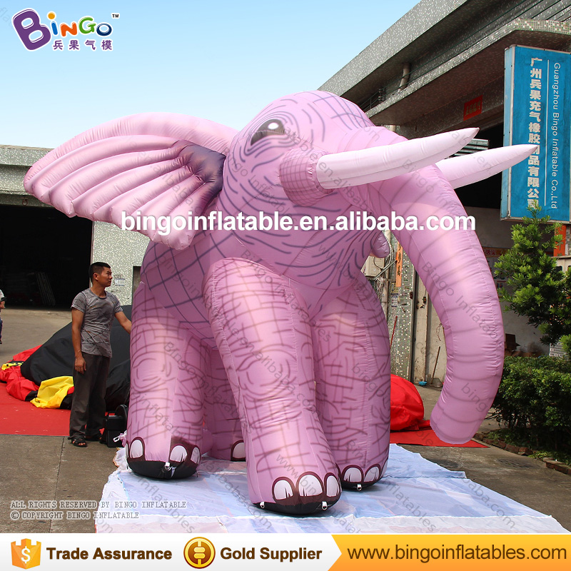 3M / 10ft Customized inflatable elephant / new style printed giant inflatable cartoon elephant for decoration inflatable cartoon customized advertising giant christmas inflatable santa claus for christmas outdoor decoration