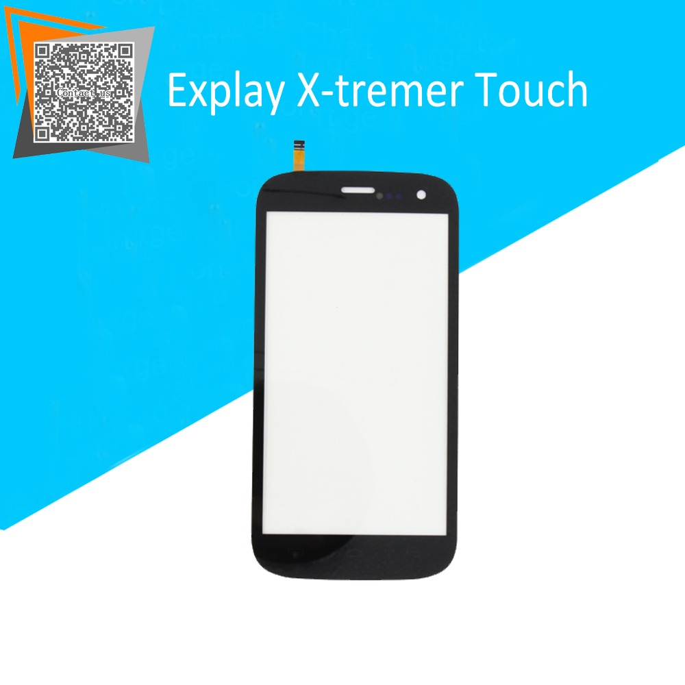 NEW Original 5 Touch Screen for Explay X-tremer Touch Digitizer Front Glass Black Replacement Parts + Free Tracking