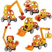88PCS Big Size Magnetic Blocks Model & Building Construction Set Magnetic Designer Educational Toys for Children Kids Gift