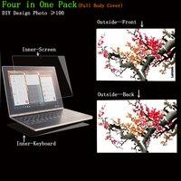 YNMIWEI For Yoga Book 10 1 Screen Protector DIY Design Full Body Cover Skin For Lenovo