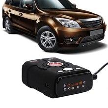 Nueva topbox v8 coche-detector de detector de radar 16 banda de 360 grados pantalla led auto láser de velocidad del coche de seguridad control