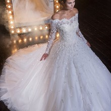 XGGandXRR Long Sleeves A-Line Wedding Dresses 2019 Dresses