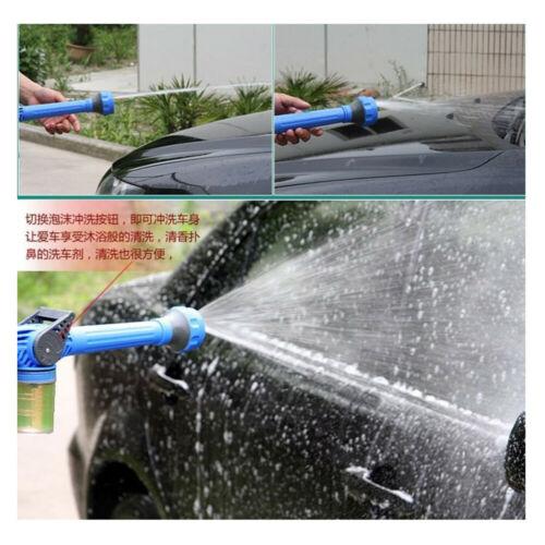 Image 4 - Multi function sprinkler 8 IN 1 Garden Hose Nozzle Water Soap Dispenser Pump Spray Gun Car Washer Cleaning-in Garden Water Guns from Home & Garden