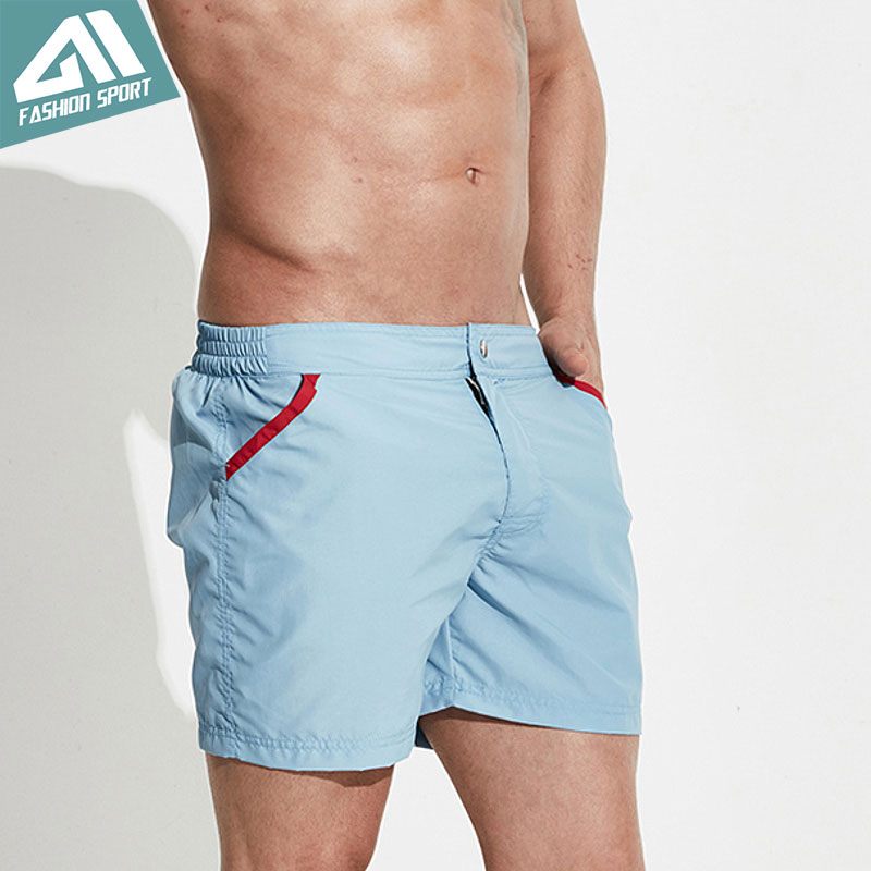 Desmiit Mesh Lining Liner Board Shorts Men Fast Dry Beach Swimming Shorts Sport Athletic Running Walking Gym Male Shorts DT70 цена
