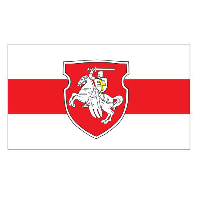Pagonya <font><b>Flag</b></font> <font><b>90x150cm</b></font> Polyester Belarusian <font><b>Flag</b></font> of Belarus Country <font><b>Flags</b></font> and Banners For Home Decoration image