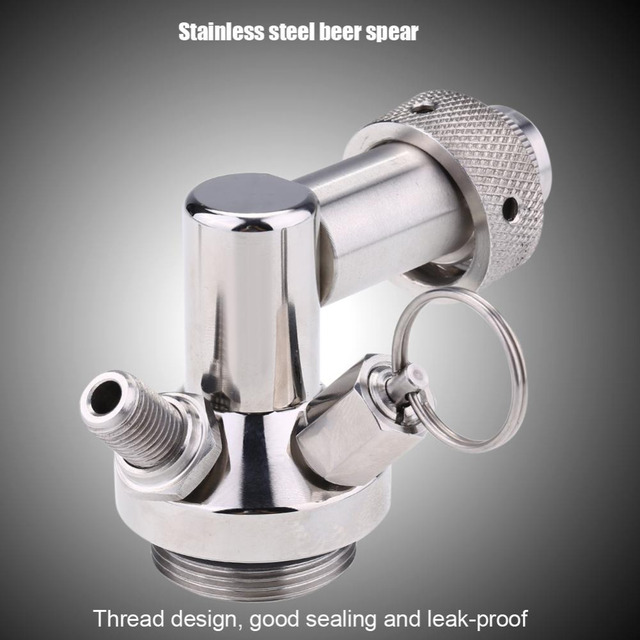 2L Stainless Steel Beer Mini Keg With Pressurized Faucet 5