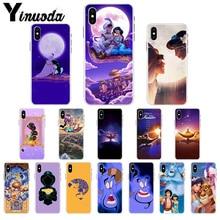 Yinuoda Aladdin and Jasmine cartoon TPU Soft Silicone Phone Case Cover for Apple iPhone X XS MAX  8 7 6 6S Plus 5 5S SE XR Cover yinuoda animal raccoon fox silicone soft tpu black phone case for apple iphone 8 7 6 6s plus x xs max 5 5s se xr mobile cover