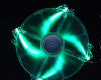 Colorful LED Fan Blue LED 200mm 20cm Fan Quiet For Power Supply For Computer Case GameTiger