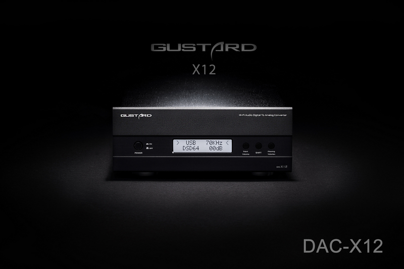 Gustard DAC-X12U ES9018 Digital Audio Decoder XMOS Input IIS/Optical/Coaxial/AES/EBU Support DSD USB Support 32Bit/384KHz DOP l k s audio mh da004 dual es9038pro flagship dac dsd input coaxial bnc aes ebu for dop usb i2s optical audio decoder