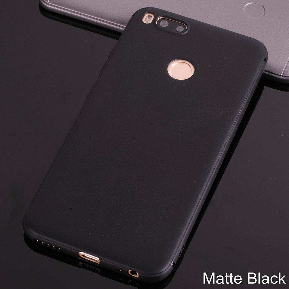Xiaomi mi a1 case silicone cover 55 Soft TPU case for xiaomi mi a1 mia1 mi 5x mi5x Matte