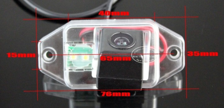 Car Camera For TOYOTA FJ Cruiser High Quality Rear View Back Up Camera For Friends Use CCD + RCA size
