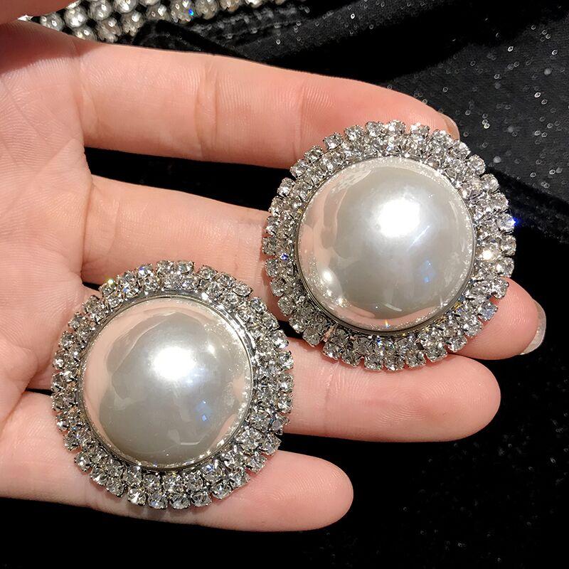Diamantes de imitación de cristal cuadrado Diamante Pendientes de Gota de Boda Nupcial Elegante De Lujo