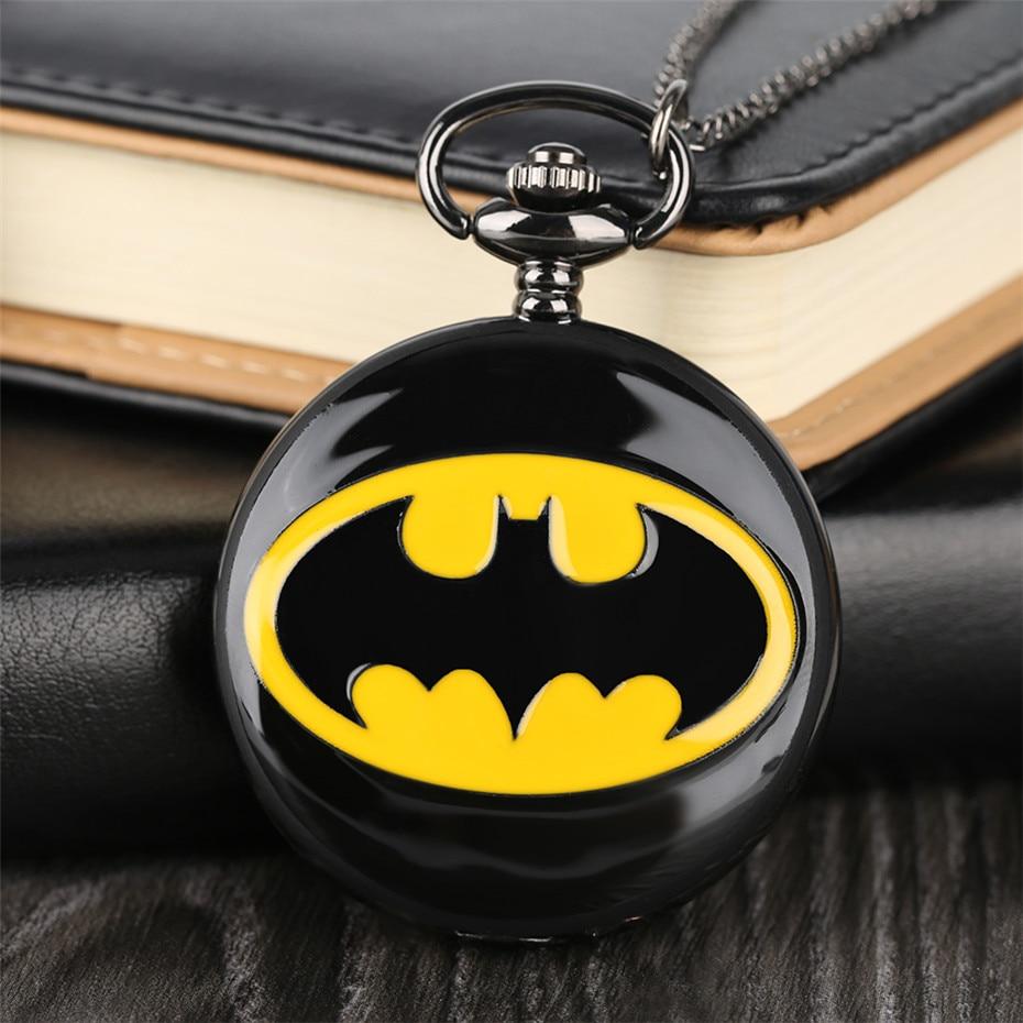 pendant watch, batman pocket watch, birthday gifts for boys, (7)