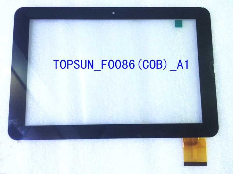 NEW touch screen Panel Sensor digitizer glass Replacement TOPSUN_F0086(COB)_A1 Free Shipping touch screen glass panel t2977s1