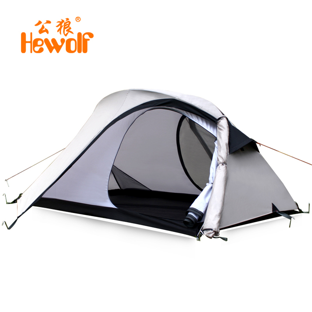 Outdoor C&ing Bell Tent Double-layer Awning Beach Tente Gazebo 2 Person Waterproof Canvas Tents  sc 1 st  AliExpress.com : waterproof canvas tent - memphite.com