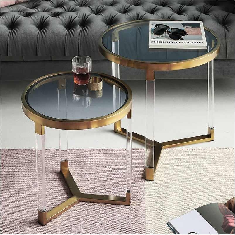 small round nest coffee table 57cm