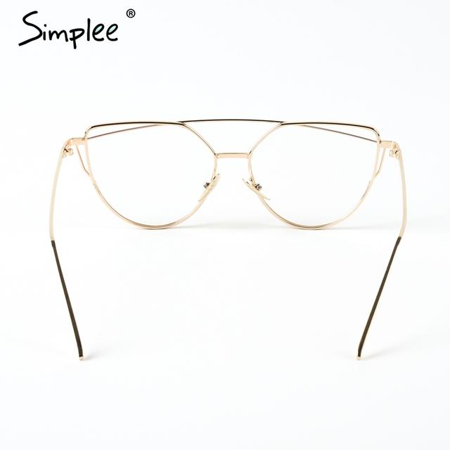 Fashion cat eye sunglasses women Twin-beams photochromic sun glasses 2017 Golden alloy frame glasses