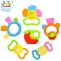 Vendas Hot 919 3 pçs/lote Frete Grátis Huile Brinquedos Brinquedos Do Bebê Mordedor Segurança & Brinquedo Bebe Chocalho Chocalho Mordedor