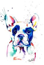 3D Diamond Painting Color Dog Cross Stitch 5D Embroidery Animal diamond Mosaic Resin Home Decor DIY