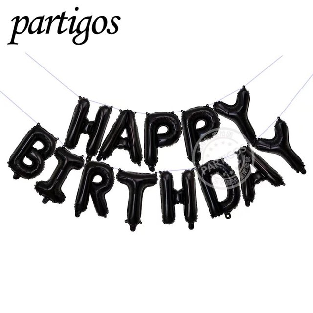 Happy urodziny balon powietrza listów alphabe różowe złoto folia balonów dzieci zabawka wesele party balonem helu tanie i dobre opinie Piłkę 10422 Literę Folia aluminiowa Partigos 13pcs