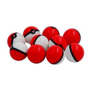 Image 3 - 20pc 6ml pokeballs silicone concentrado recipiente bola ou não vara cera pokeball óleo creme frascos dab & butano óleo ou frasco de óleo slick