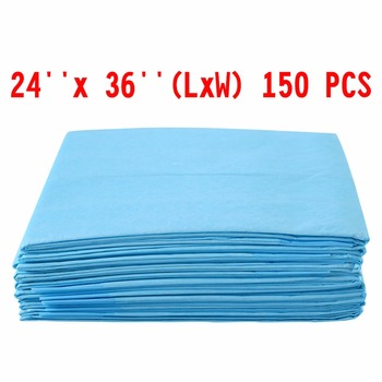 """150 PCS 24"""" x 36"""" Puppy Pet Pads Dog Cat Wee Pee Piddle Pad training underpads  PS6106 1"""