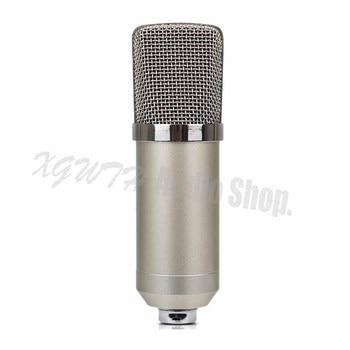 Recording Studio Condenser Microphone Professional Large Diaphragm Mike Music Create Broadcast Capacitor Cardioid Microphone