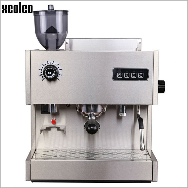 Commercial Automatic Espresso Machine aliexpress : buy xeoleo commercial coffee maker automatic