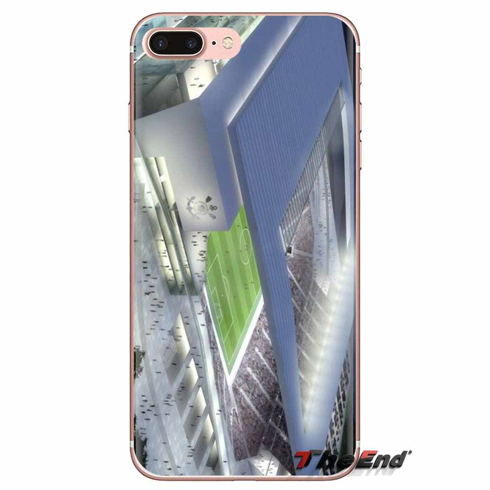 Arena Korintus Stadion Sepak Bola Silikon Case PENUTUP UNTUK Samsung Galaxy S3 S4 S5 Mini S6 S7 Edge S8 S9 S10 plus Catatan 3 4 5 8 9