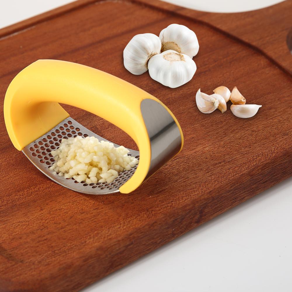 Râpe à ail Mini Portable en acier inoxydable Presses concasseur hachoir trancheuse main presseur broyeur broyeur cuisine outil livraison directe 1