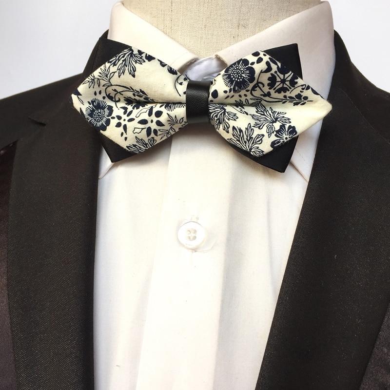 Click here to Buy Now!! Mantieqingway Coton Imprimé Arc Cravates pour les  Hommes Maigre 5.5 cm Nœud Papillon ... 849b469af0d